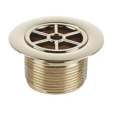 Mcalpine Gold Finish standard doccia rifiuti + Griglia (si adatta stw3 & stw4) stw70gp