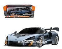 MOTORMAX 1/24 BLUE MCLAREN SENNA DIECAST MODEL CAR  79355BLU