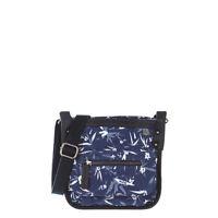 ANIMAL WOMENS BAG.ETERNAL SMALL BLUE ZIP CROSS BODY SHOULDER HANDBAG 7S/315/Y88