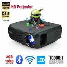 8500lms Android 6.0 Beamer 5G WIFI Blue tooth Heimkino Projektor 4K LED HDMI USB