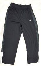 Nike Junior Boys Kids Black Casual Loung Athletic Pants Size XL White Trim