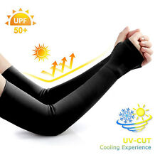 Arm Sleeves Cover Uv Sun Protection Outdoor Sports Arm Warmer Breathable -Ca