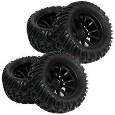HSP RC 1:10 Off-Road Monster Truck Bigfoot Rubber Tyre Tire Wheel Rim GREEN88105