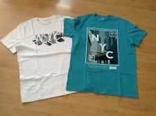 2 OLD NAVY MEN'S T-SHIRTS - NYC - SIZE L