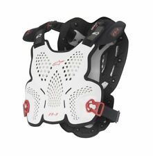 ALPINESTARS A-1 ROOST GUARD WHITE BLACK RED XL/XXL