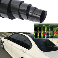 15% Black Universal Car Home Glass Window Tint Vinyl Film Cover Roll 50cmx3m