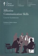 The Great Courses: Effective Communication Skills---NEW, IN SHIRNKWRAP