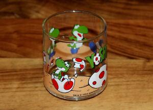 1993 Nintendo Yoshi Super Mario Yoshi's Egg Vintage Glass Motive 7 Very Rare