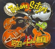 Setzer Goes Instru-MENTAL! [Digipak] by Brian Setzer (CD, Apr-2011, Surfdog Reco