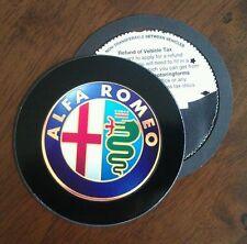 Magnetic Tax disc holder fits any alfa romeo free postage bka