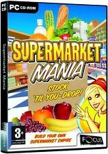 Supermarket Mania (PC) NEW SEALED