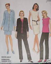 EASY wardrobe pattern size 4,6 cardigan pants skirt top
