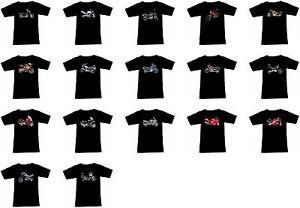 T-Shirt mit Motorrad Motiv: Honda Biker Fruit Of The Loom Motorcycle Teil 1