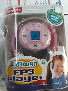 Vintage Fisher-Price Kid-Tough FP3 Player Easily Download Songs & Stories