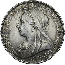 More details for 1897 florin - victoria british silver coin - v nice