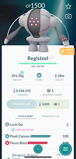 Pokemon Registeel < 1500 unlock 3 moveset for Great League PVP - Trade