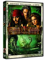 EDITION COLLECTOR 2 DVD PIRATES DES CARAIBES LE SECRET DU COFFRET MAUDIT OCCAS
