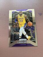 Lebron James 2019-20 Prizm Base Lakers Card No.129