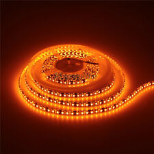 5M Orange SMD 3528 Flexible LED Strip Light 600 Leds Waterproof 12V Black PCB