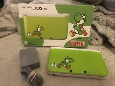 Nintendo 3DS XL Yoshi green edition With Box + Charger FREE SHIPPING