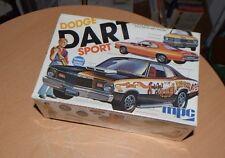Vintage 1974 MPC Model Kit 1-7510 Dodge Dart Sport w Driver Figure NEW SEALED