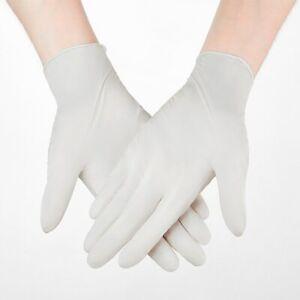 100pcs Nitrile Gloves Black Waterproof Mechanic Laboratory Work Household