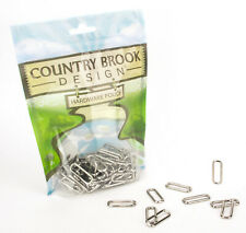 50 - Country Brook Design® 1 Inch Rectangle Metal Keeper