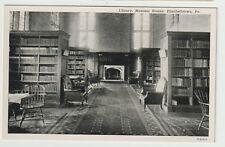 Unused Postcard Library Masonic Homes Elizabethtown Pennsylvania Pa