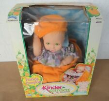 Kinder Garden Baby Doll- Patricia Pumpkin, with Flower Bed Carrier, New in Box
