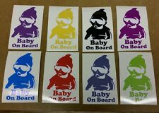 Baby On Board Hangover Style Print/Cut Car Sticker