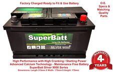 SuperBatt SB 110 Car Battery Jaguar X TYPE ESTATE 2.0D 2.2D TDCI Diesel 2001-10