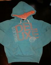 Boys girls Henleys Delux Size 2 ( uk S) Hoodie jumper designer clothes next day