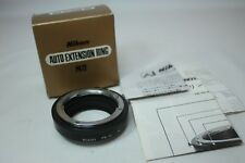 【Near Mint】Nikon PK-12 Auto Extension Tube Ring in BOX From JAPAN