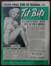 Tit-Bits 13th October 1951 JAN STERLING ANOTHER DUMB BLONDE MAKES GOOD