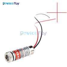 Red Cross Line Laser Focusable 5mW 650nm Module Focus Adjustable laser Head M138