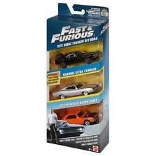 FAST & FURIOUS Confezione 3 Modellini Auto 1:55 Die Cast - Mattel fcg02