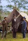 Abraham Lincoln 1862 PHOTO,Battle of Antietam With Allan Pinkerton,Civil War Pic