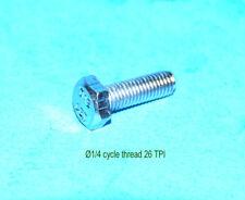 Hexagon screw tornillo 1/4 cycle 26 tpi x 3/4 sc2 BSA Triumph AJS Norton Sunbeam