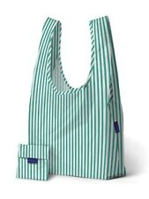 BAGGU MINT STRIPE Standard Size Reusable Bag - NWT - Discontinued Pattern