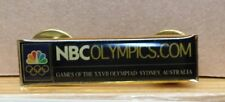 2000 SYDNEY NBC OLYMPICS.COM MEDIA OLYMPIC PIN