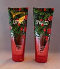 Bath & Body Works Country Apple 24 Hour Moisture Ultra Shea Body Cream X 2