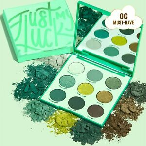 Colourpop Just My Luck 9 Pan Pressed Powder Eyeshadow Palette Matte Metallic NIB