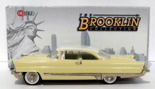 Brooklin 1/43 Scale BRK99  - 1956 Lincoln Premier 2Dr Yellow/White