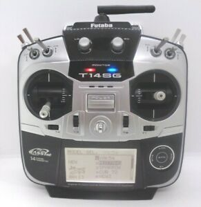 Futaba T14SG TRANSMITTER ON  MODE 2 LEFT THROTTLE BOXED IN EXCELLENT CONDITION