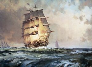 "John Stobart Print - The ""Dreadnaught"""