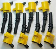 8 Heavy Duty Ignition Coil DG-508 YELLOW