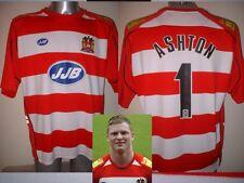 Wigan Warriors signé Chris Ashton adulte XL rugby league shirt jersey England