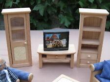 Puppenstuben Möbel ~ WohnzimmerSchrank 3 Teile - Bodo Hennig - Landhausmöbel Top