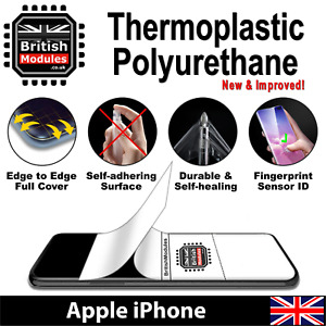 Apple iPhone Thermoplastic Self Healing Soft HydroGel Film Screen Protector