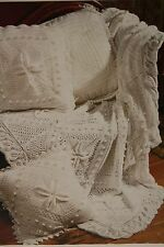 Cushions and Throw/Baby Shawl/Blanket Knitting Pattern (MC011)